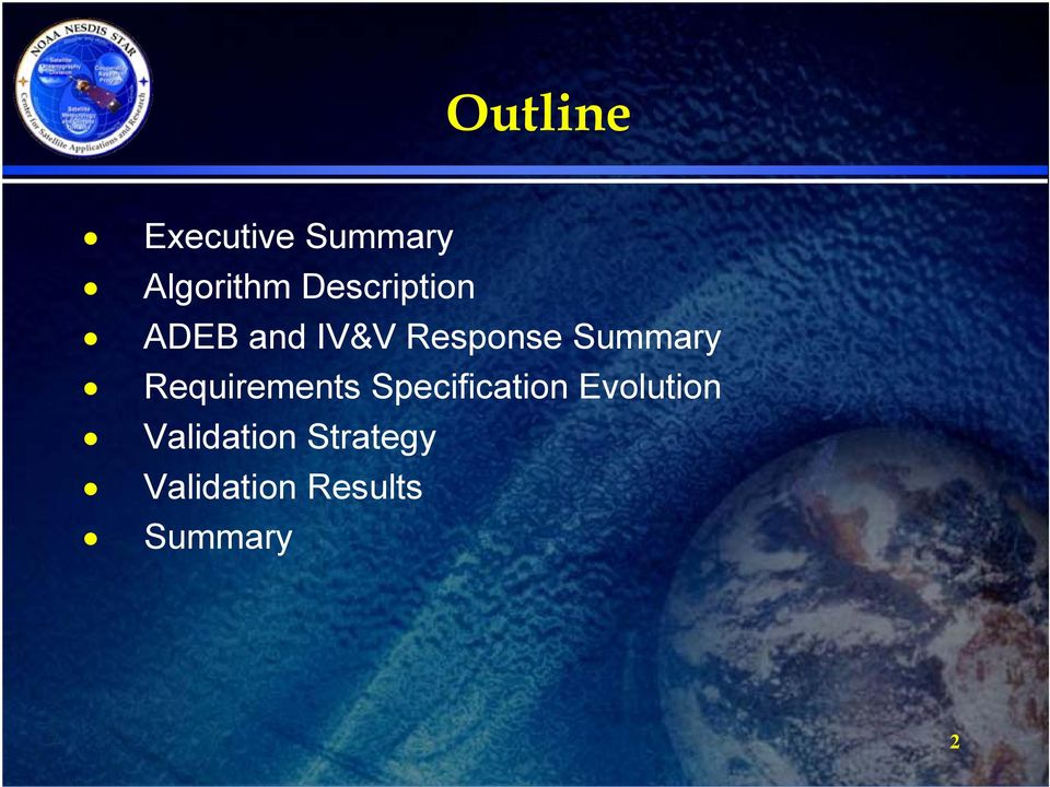 Summary Requirements Specification