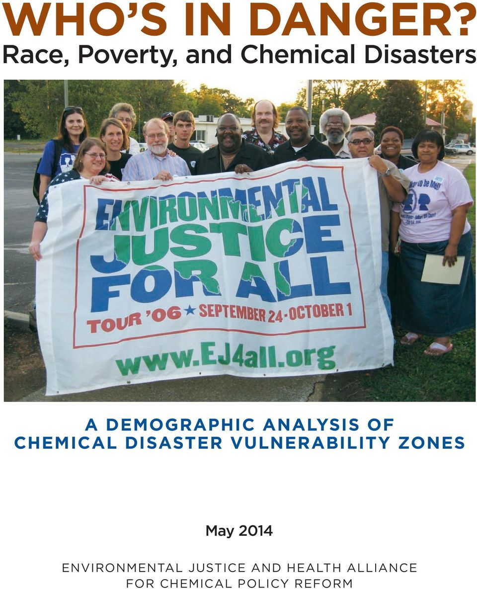 DEMOGRAPHIC ANALYSIS OF CHEMICAL DISASTER