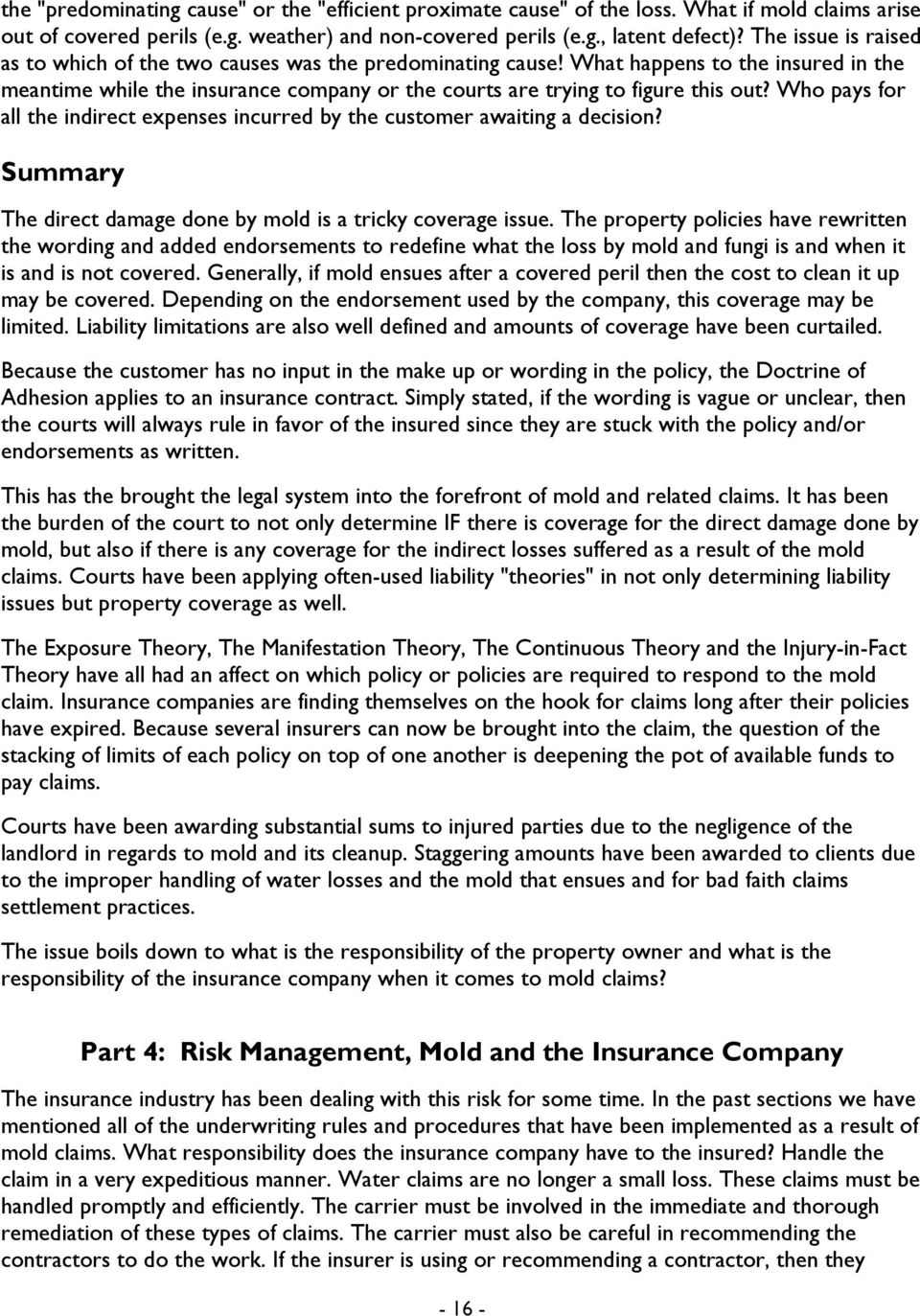 property all risk insurance lm7 wording pdf