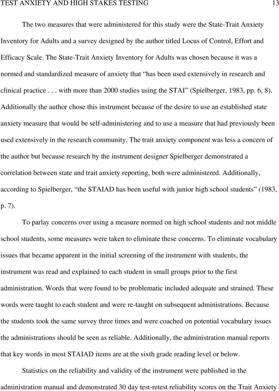 high stakes testing research proposal essays coursework sample letter to state and federal legislators on the