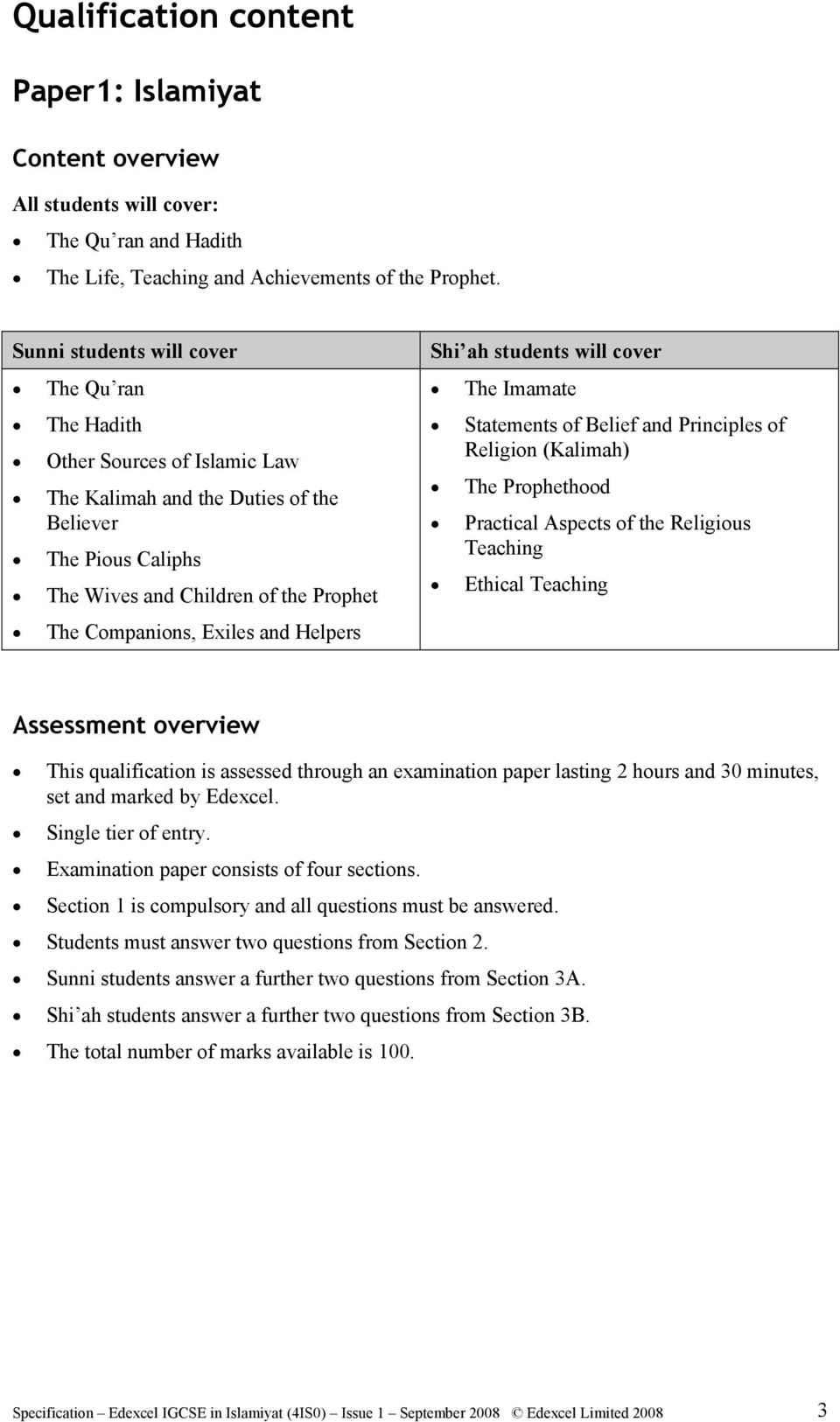 Edexcel past papers for students