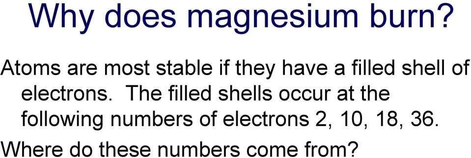of electrons.