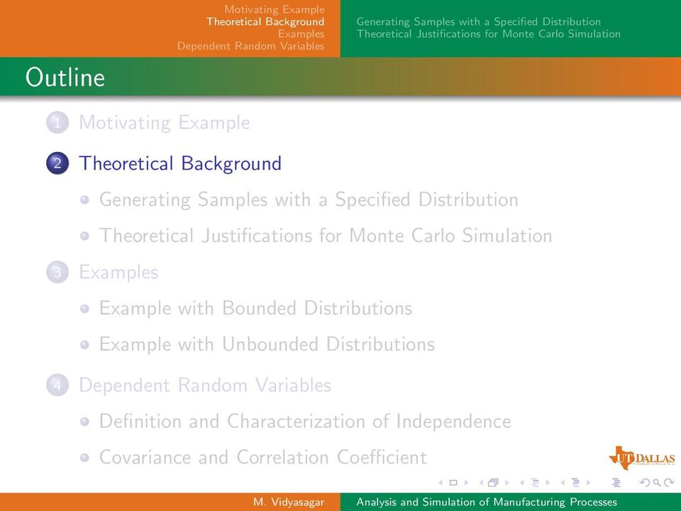 Unbounded Distributions 4 Definition and