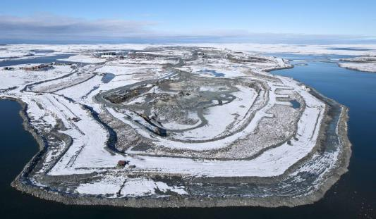 The Jay Project Dike Construction Meadowbank Bay Goose Dike and Goose Pit New Dike design will be