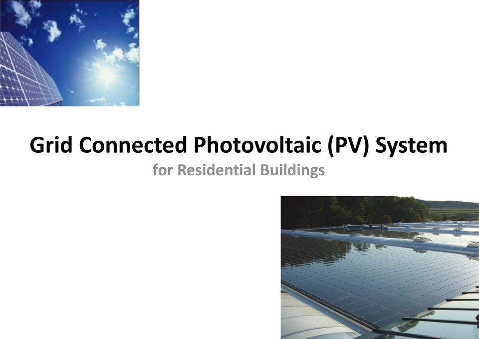 (PV) System for