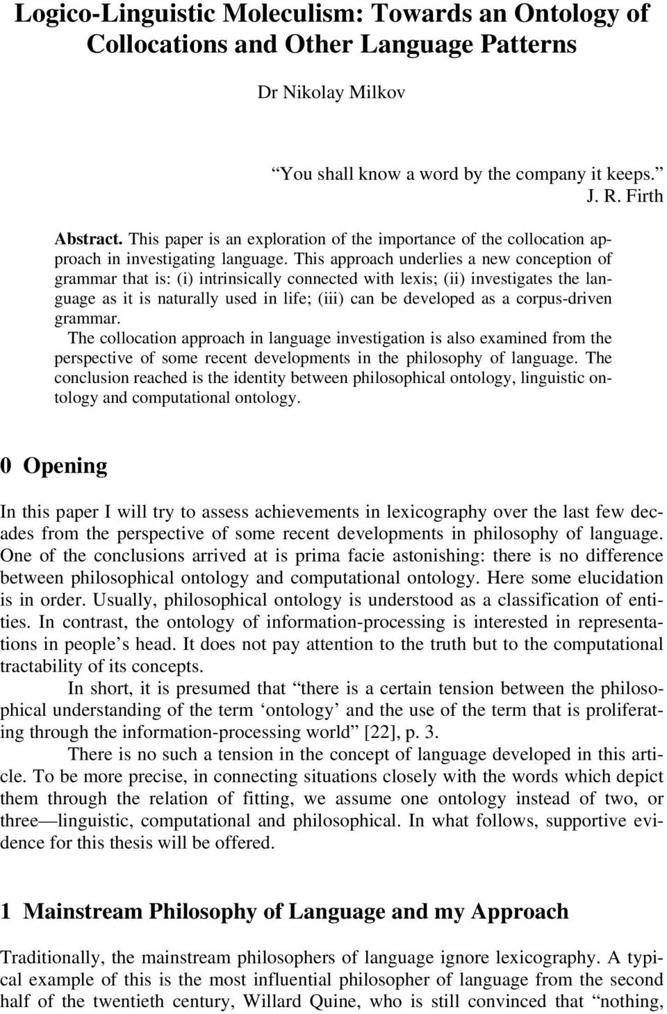 thesis in computational lexicography Recycling translations the focus of this thesis is on re-using translations in have been applied to different tasks in computational lexicography and machine.