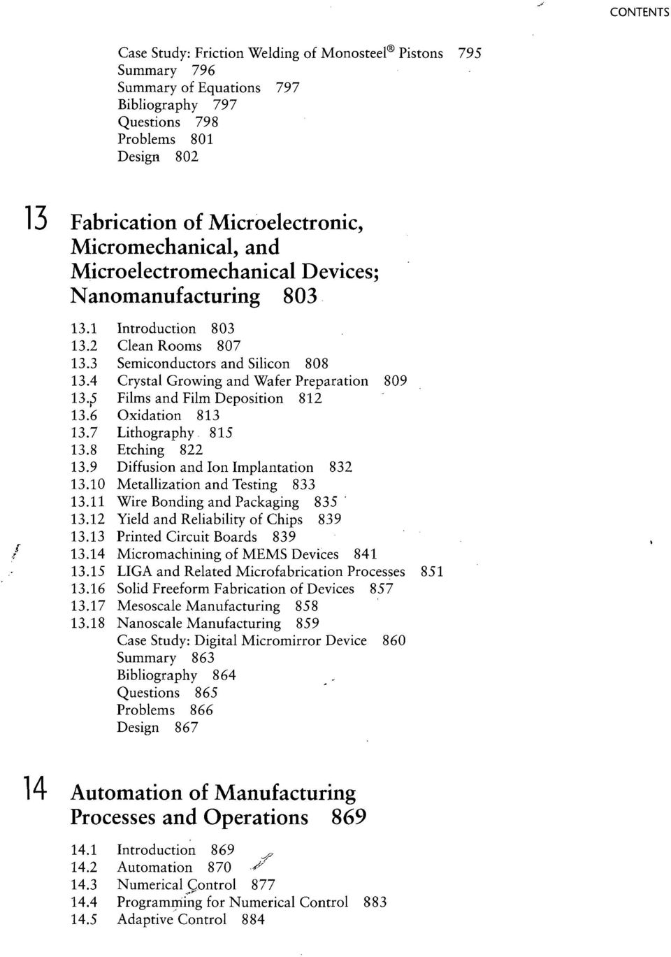 Manufacturing Processes for Engineering Materials - PDF