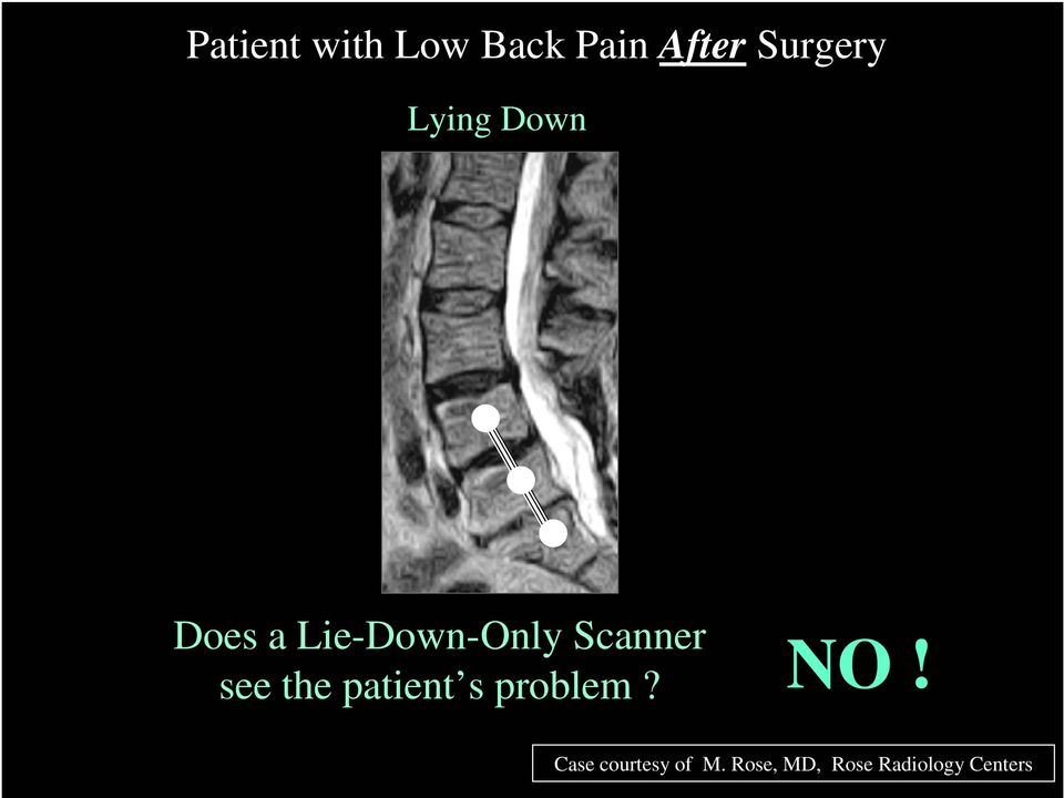 see the patient s problem? NO!
