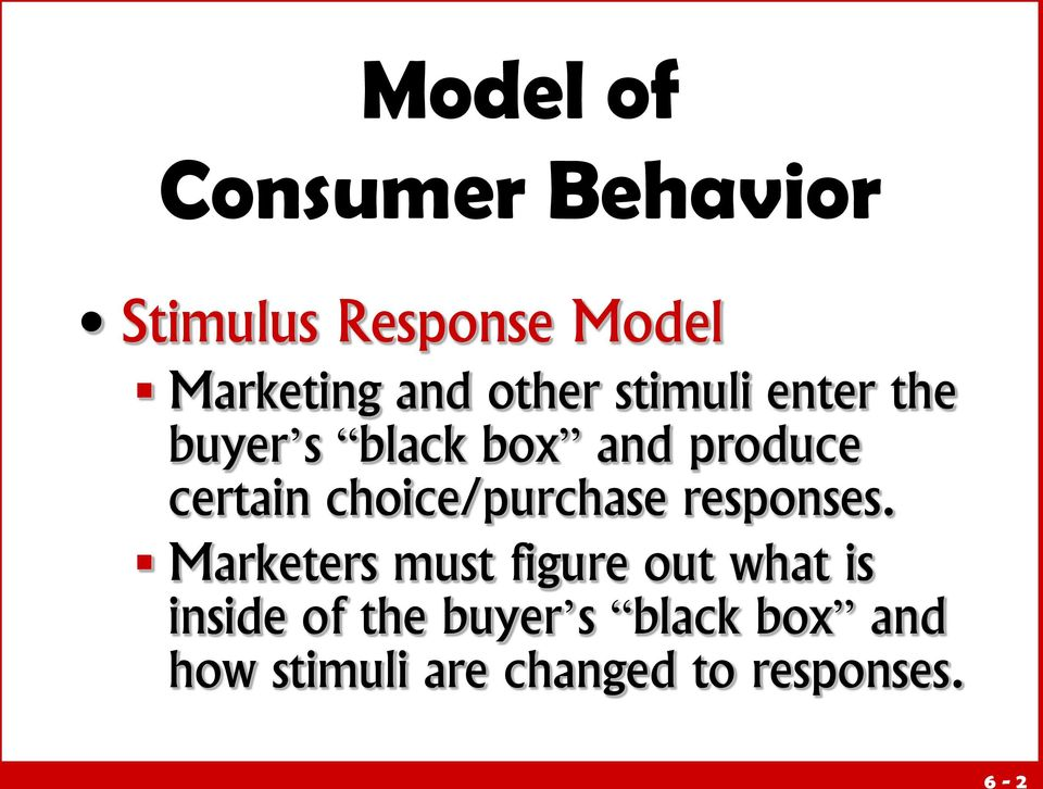 Literature review customer buying behavior