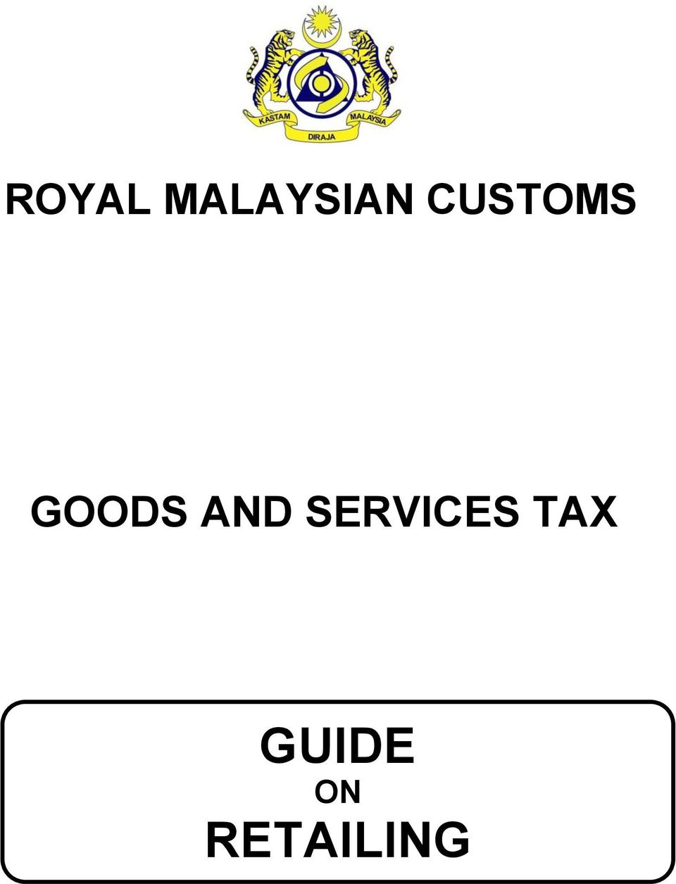 AND SERVICES TAX