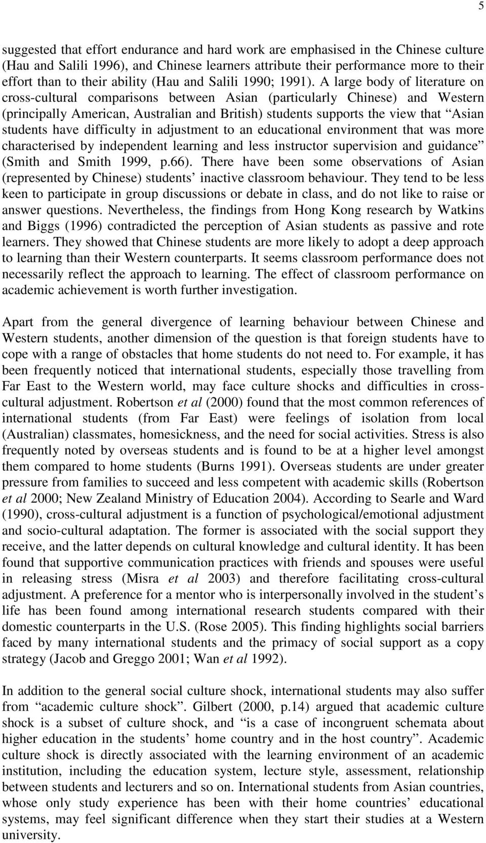 the comparison between chinese and western cultural Papers usa china cultural compare contrast essays - comparison of the american and chinese cultures.