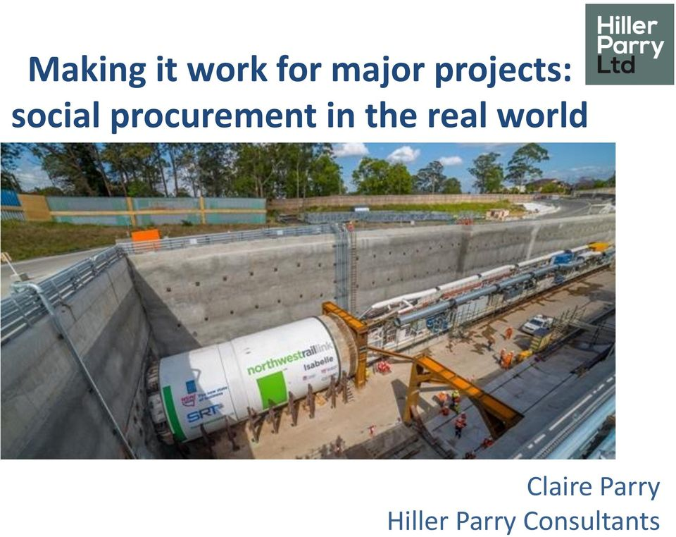 procurement in the real