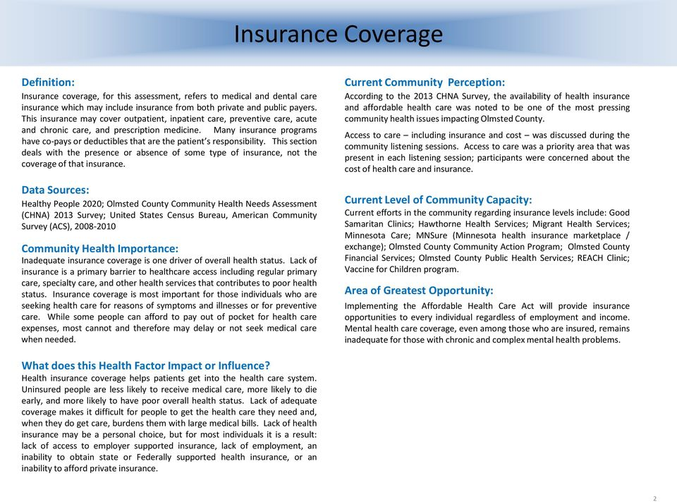 Many insurance programs have co-pays or deductibles that are the patient s responsibility.