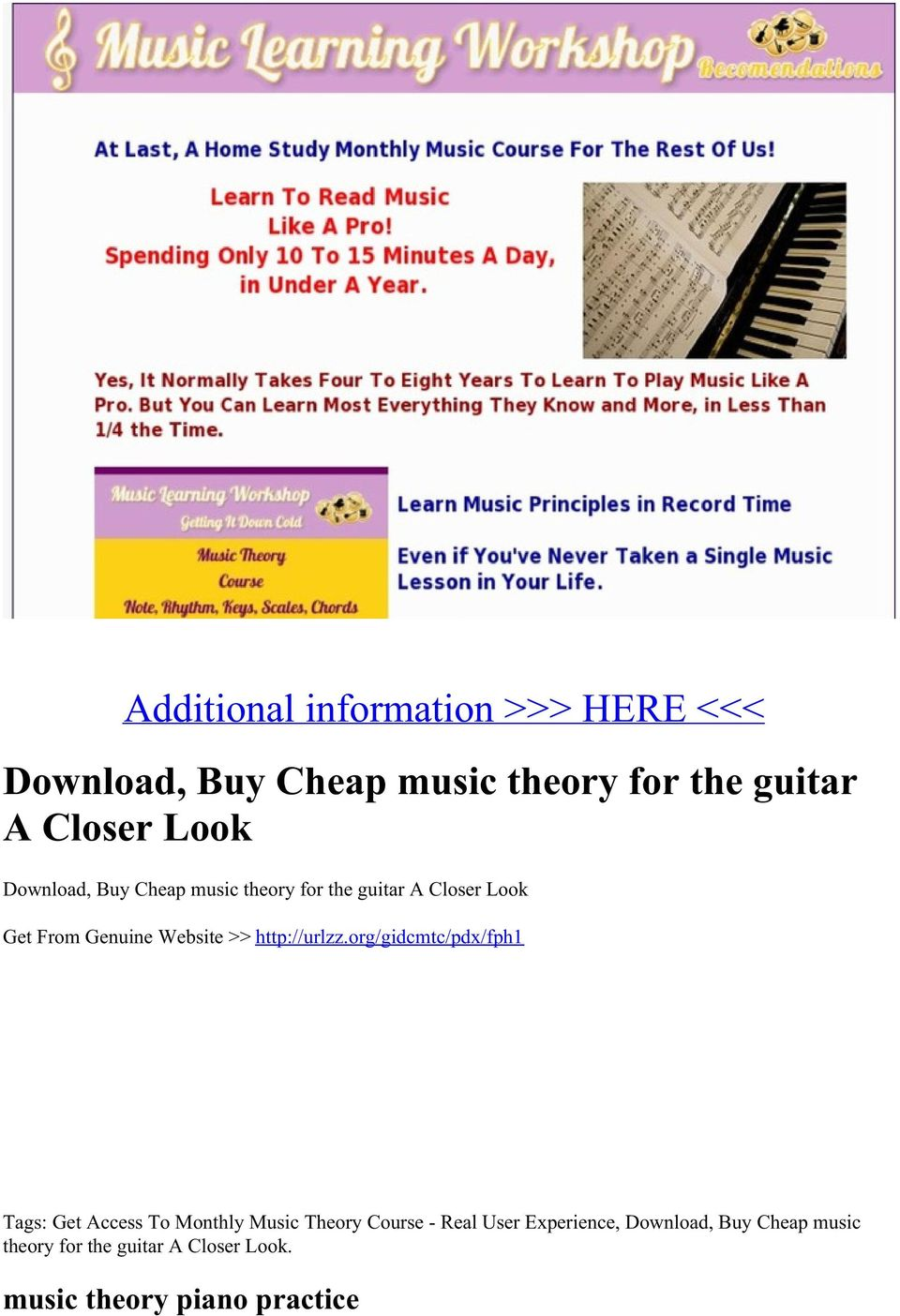 theory for the guitar A Closer Look Get From Genuine Website