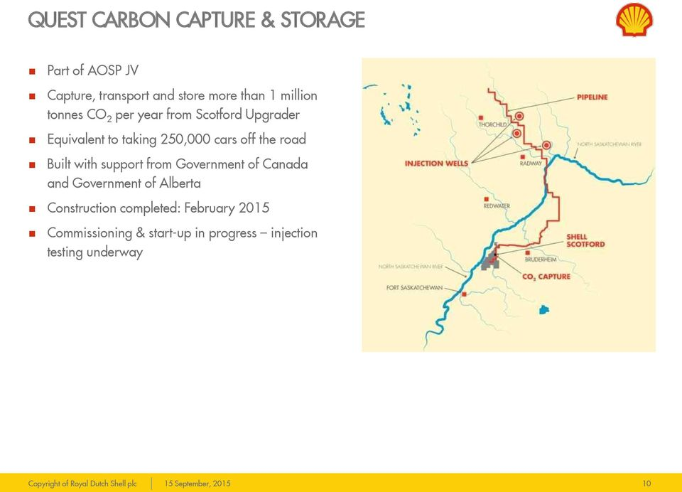 the road Built with support from Government of Canada and Government of Alberta