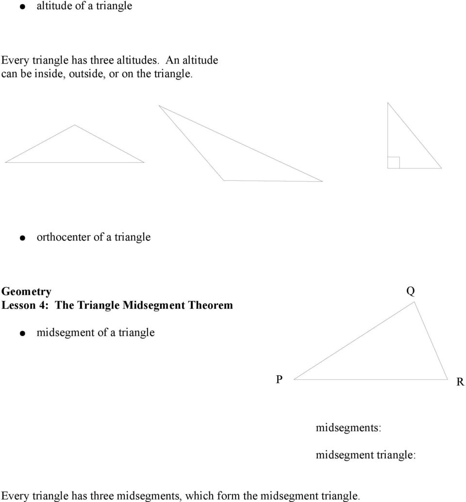 Worksheet Midsegment Of A Triangle Worksheet Carlos Lomas