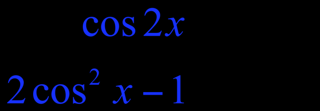 Example of Solving a Trigonometric Equation Using a Double-Angle Identity Solve cos (2x) = cos (x)