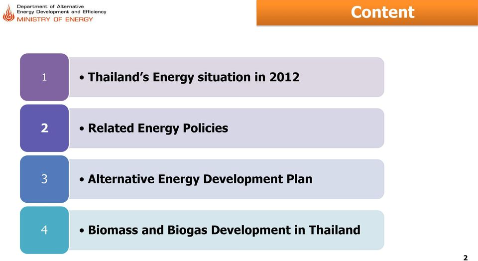 Alternative Energy Development Plan 4