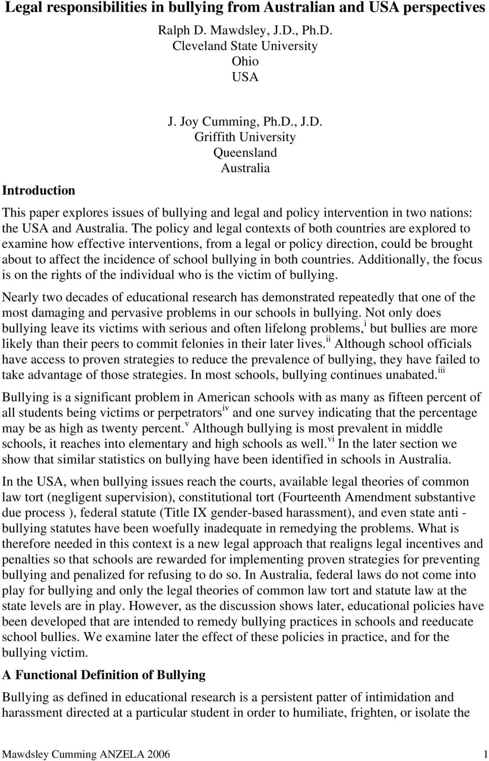 treatment interventions for the victim of bullying The first systematic evaluation of the olweus bullying prevention program  dan olweus,bully/victim problems  targeted by preventive interventions predict.