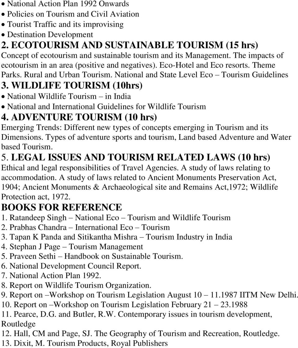 national tour report tourism studies Ttra is a leading advocate for higher standards in travel and tourism-related research, analysis, and marketing.