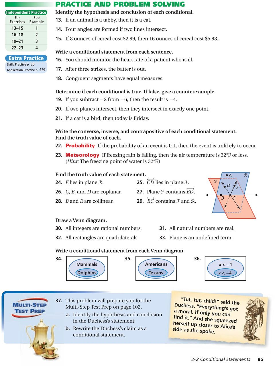 geometric  reasoning  2a inductive and deductive