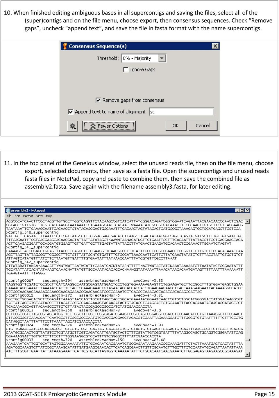 how to open fasta file