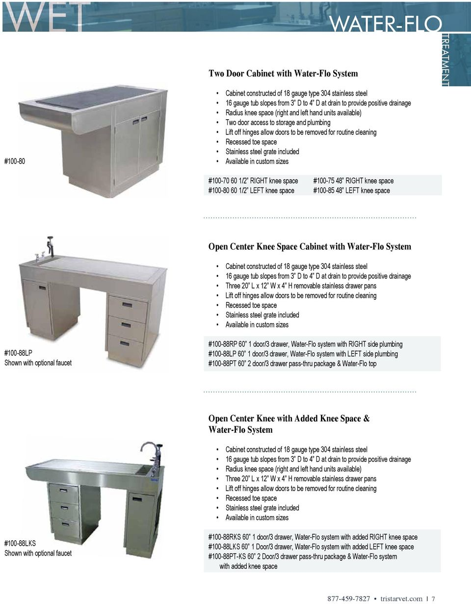 Stainless steel veterinary equipment pdf for Types of drainage system pdf