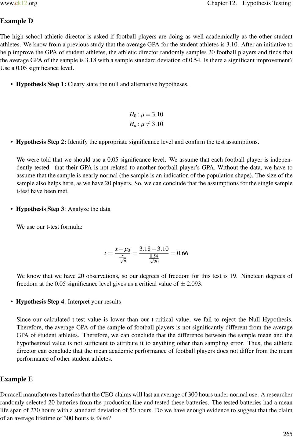 steps involved in hypothesis testing pdf