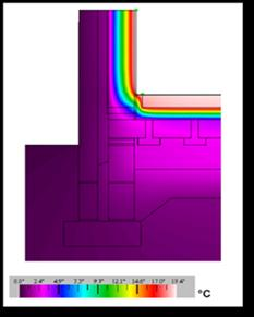 Key Issue Thermal Bridging Thermal bridges points in the envelope where heat loss is greatest.