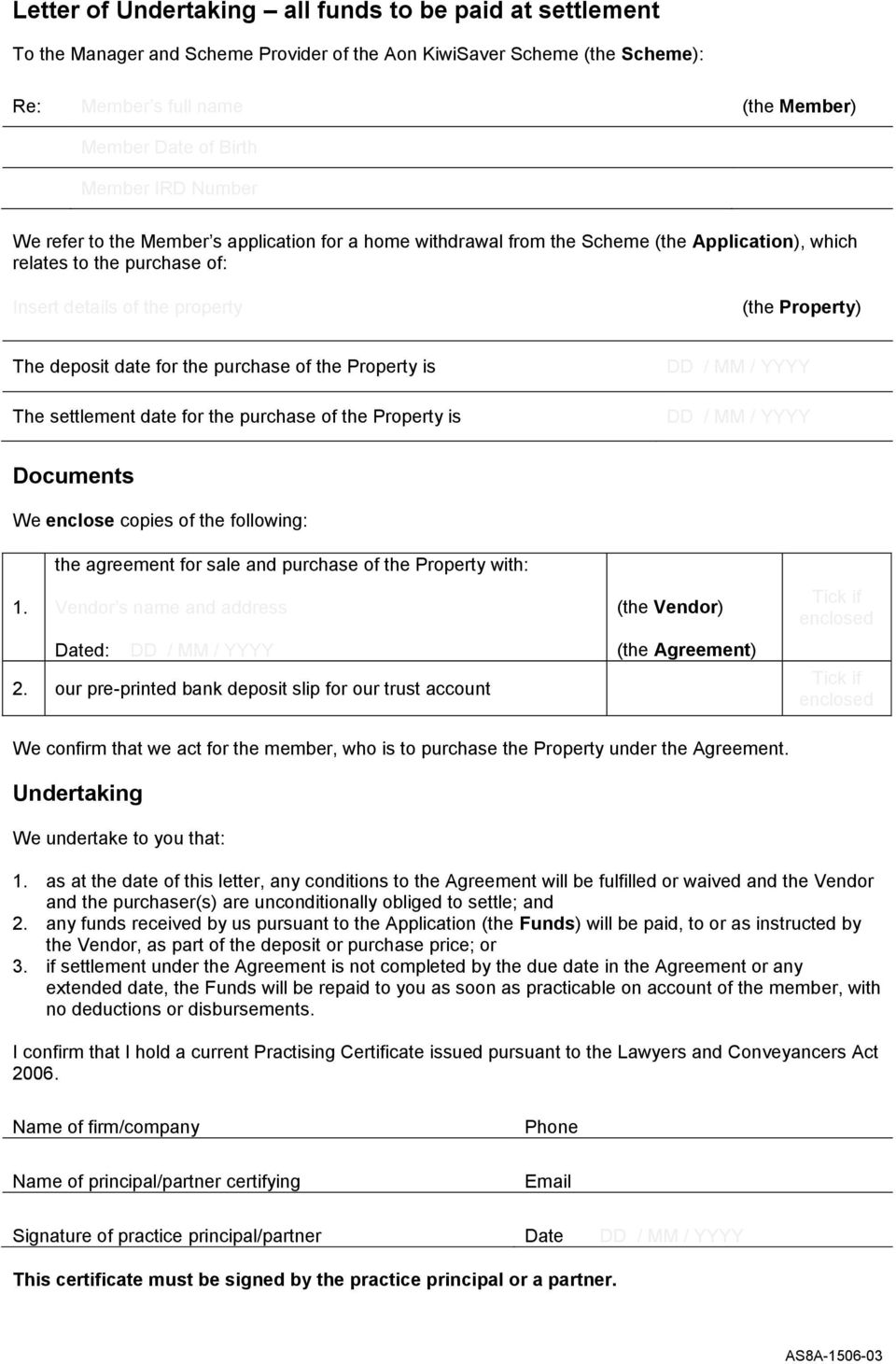 Application For Withdrawal Purchase First Home