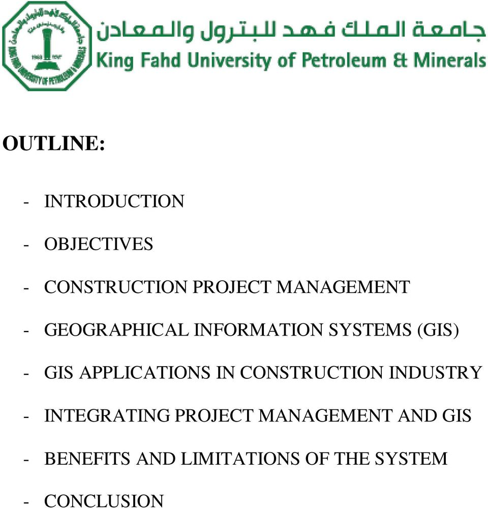 project management in construction industry pdf