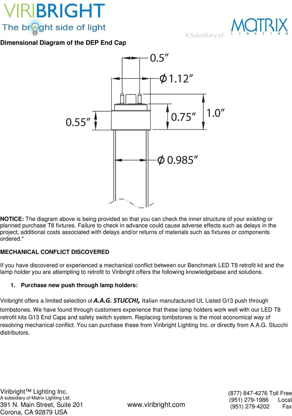 Led T8 Pre Purchase Selection Guide Pdf Convert T12 To Wiring Diagram Mechanical Conflict Discovered If You Have Or Experienced A Between Our Benchmark