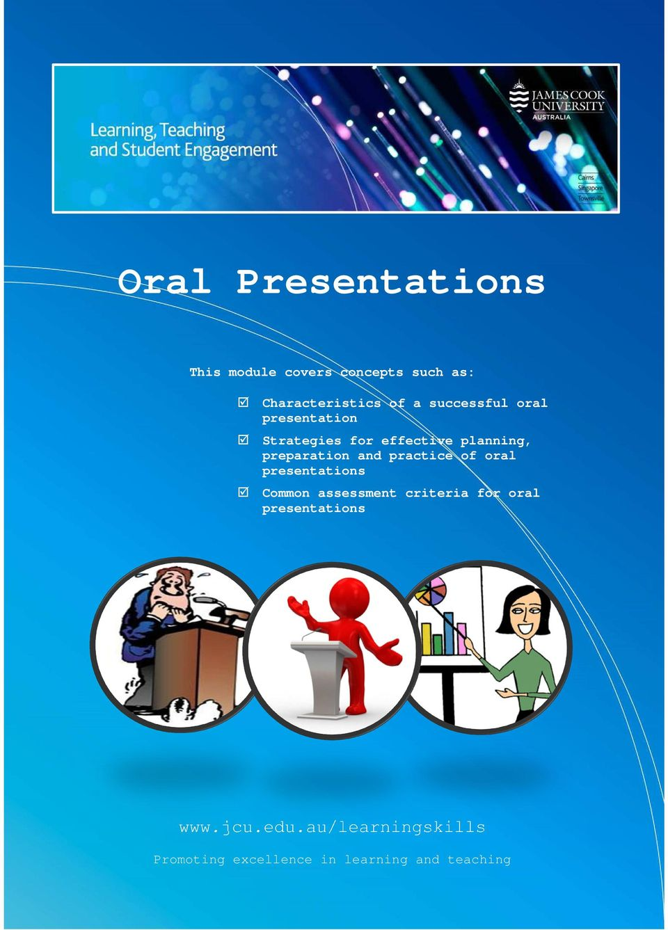 and practice of oral presentations Common assessment criteria for oral
