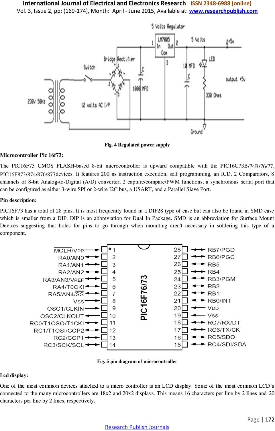 A Module Integrated Isolated Solar Micro Inverter Pdf Pic16f73 Based Temperature Indicator And Controller Best Engineering That Can Be Configured As Either 3 Wire Spi Or 2 I2c Bus