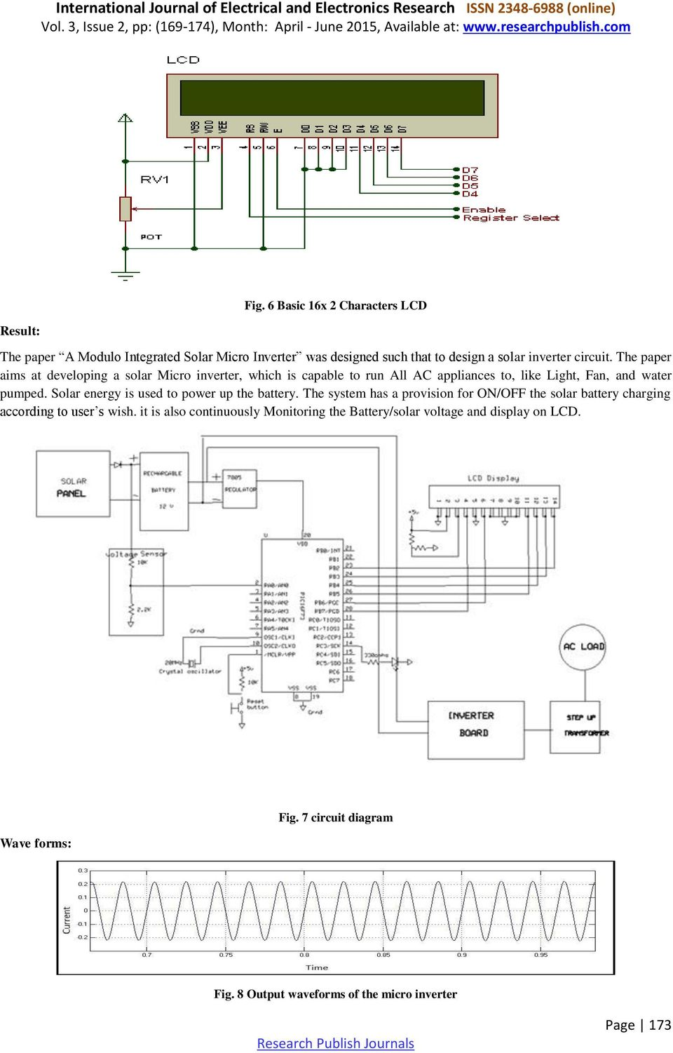 A Module Integrated Isolated Solar Micro Inverter Pdf Advanced Tutorials Battery Wiring Diagrams For Energy Systems The Paper Aims At Developing Which Is Capable To Run All