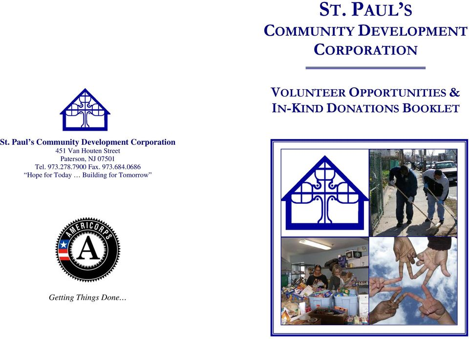Paul s Community Development Corporation Paterson, NJ 07501 Tel.