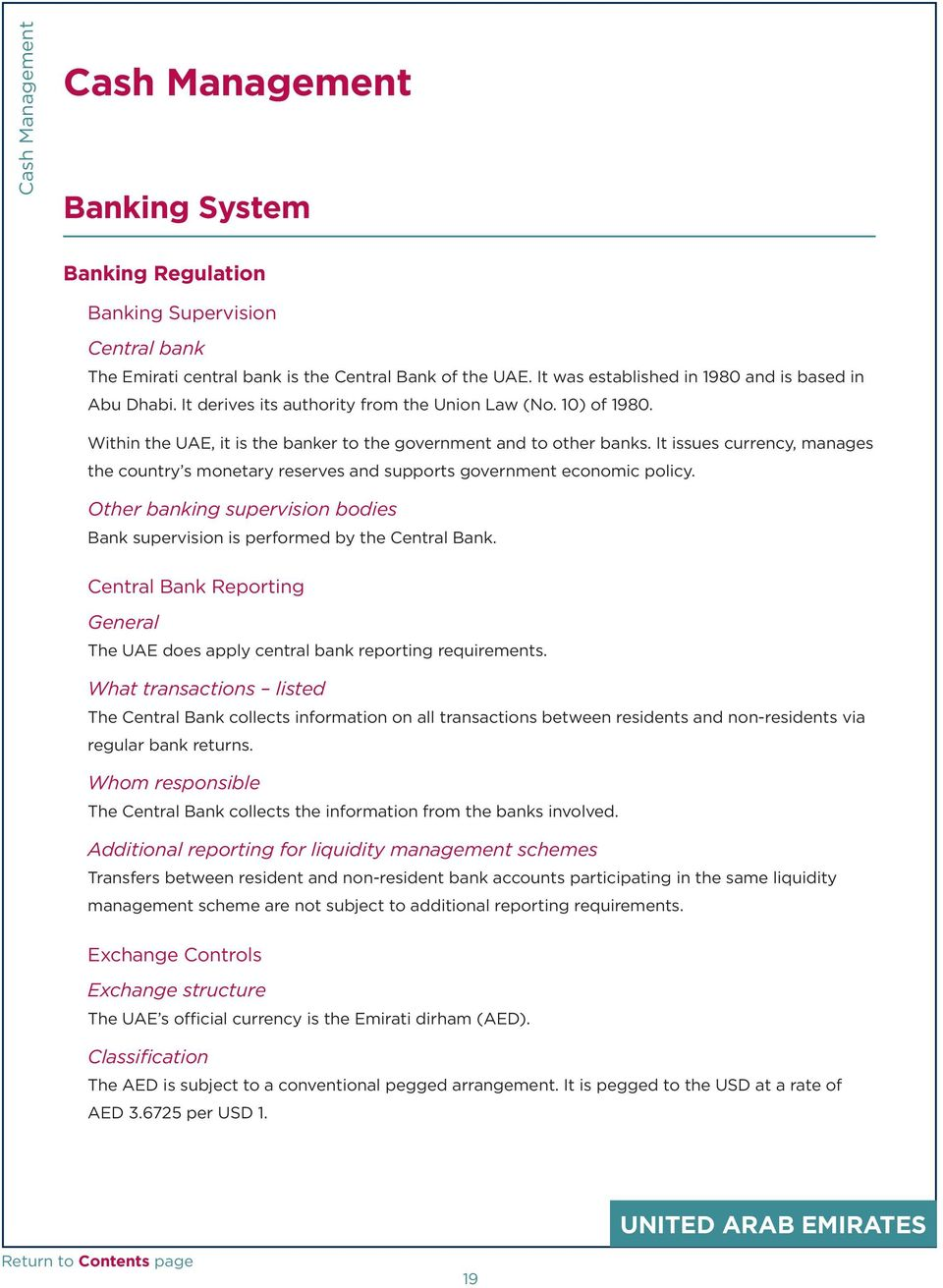 Central bank and monetary authority websites