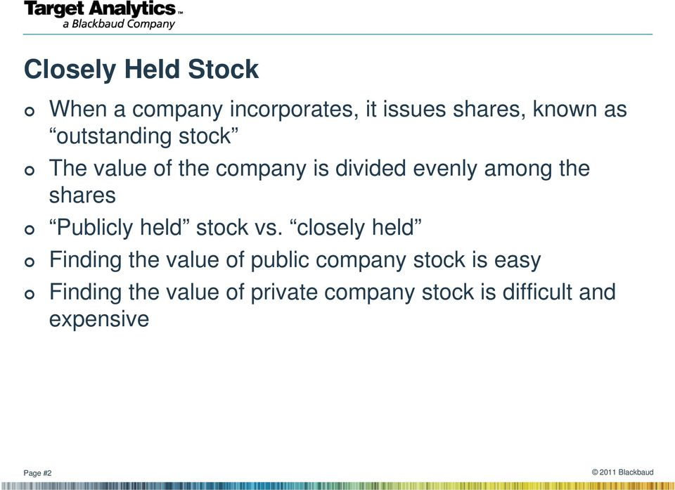 Valuing private company stock options