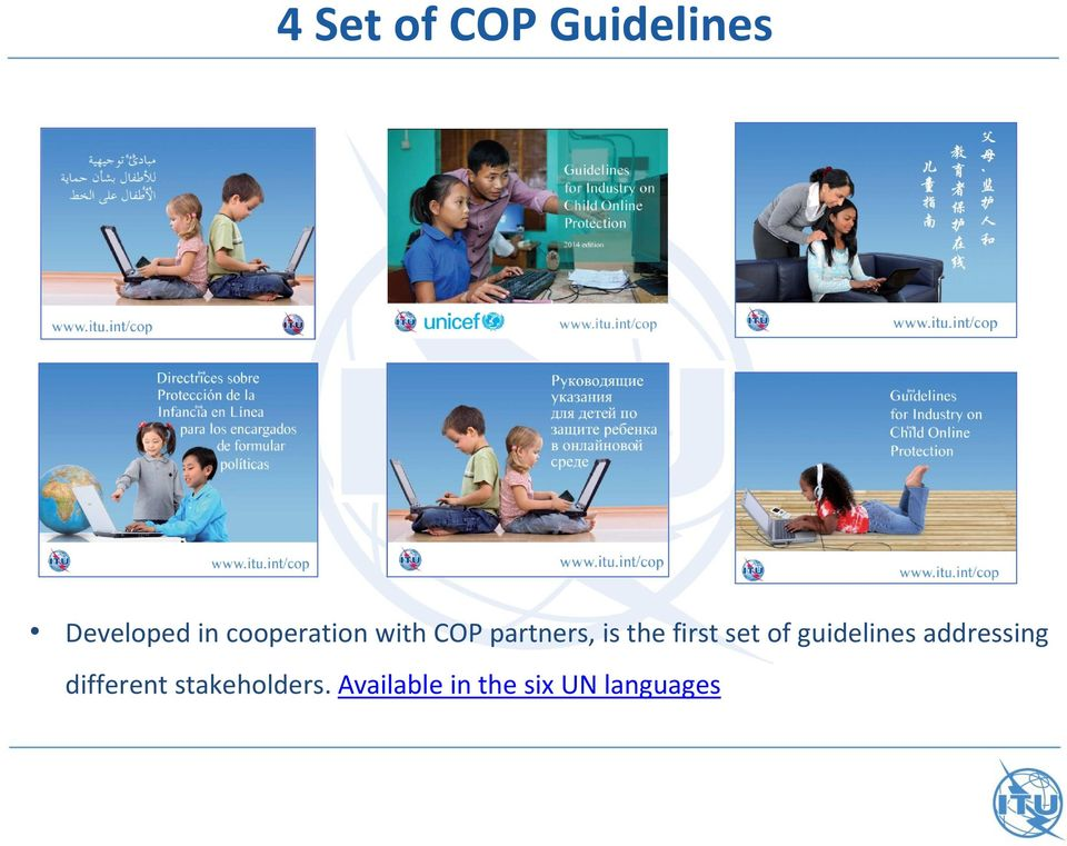 first set of guidelines addressing