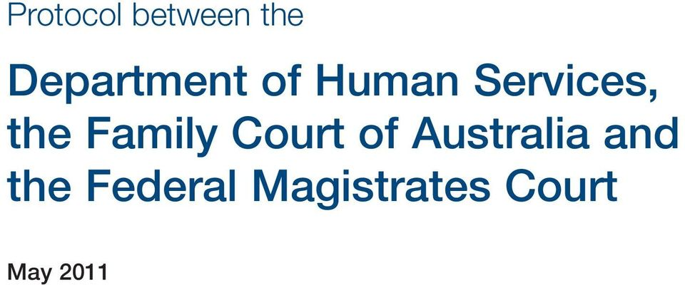 the Family Court of Australia