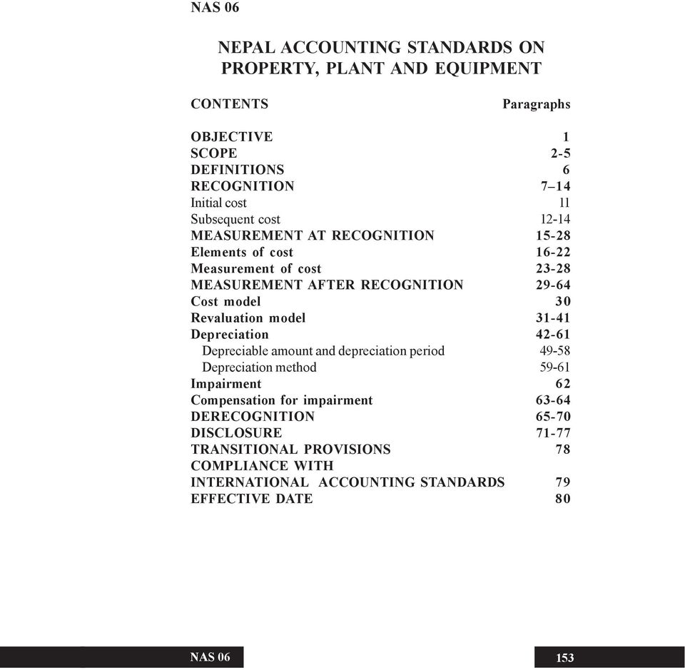 ca nepal accounting standard The nepali accounting standards board has issued a set of accounting  standards (nepal financial reporting standards, nfrs) which are based on  ifrss.