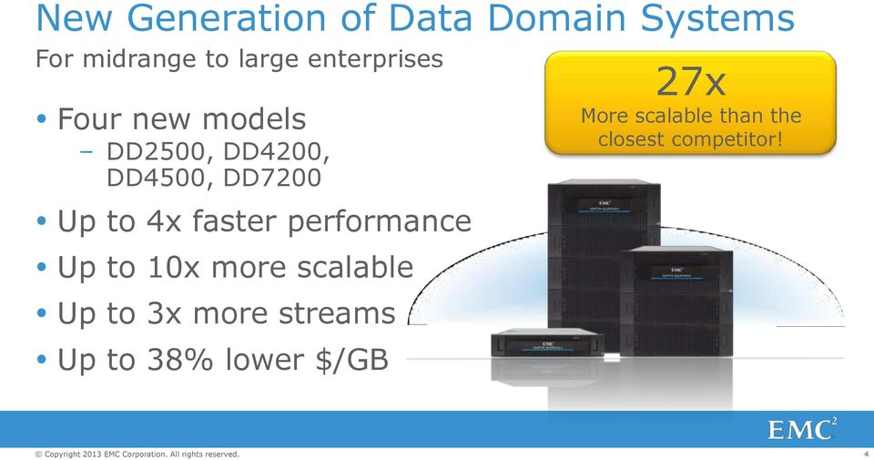 4x faster performance Up to 10x more scalable Up to 3x more