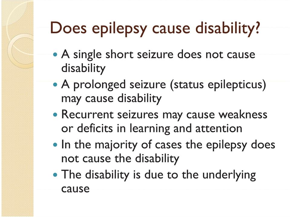 Causes of and diagnosing a learning disability