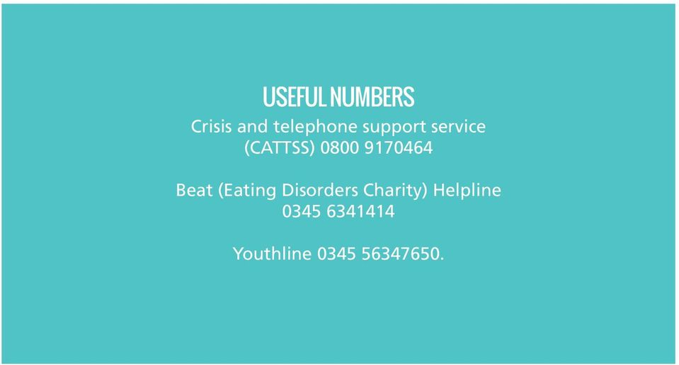 Beat (Eating Disorders Charity)