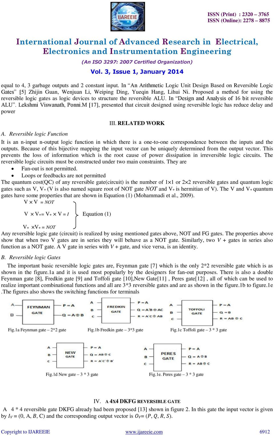 An Ease Implementation Of 4 Bit Arithmetic Circuit For 8 Operation Alu Logic Diagram M 17 Presented That Designed Using Reversible Has Reduce Delay And