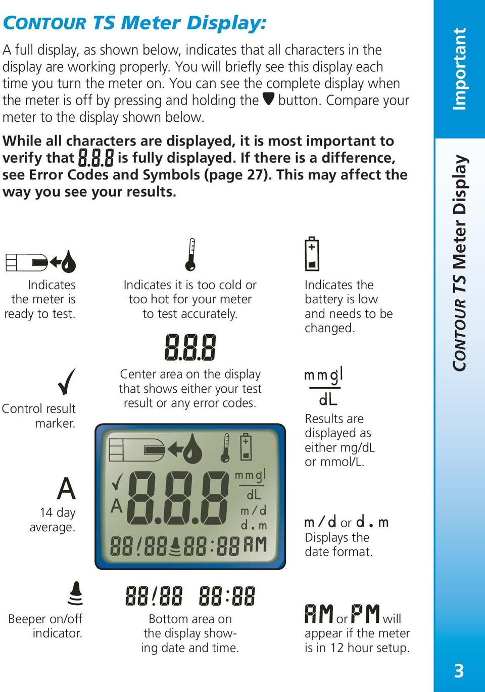 Blood Glucose Monitoring System User Guide For Use With