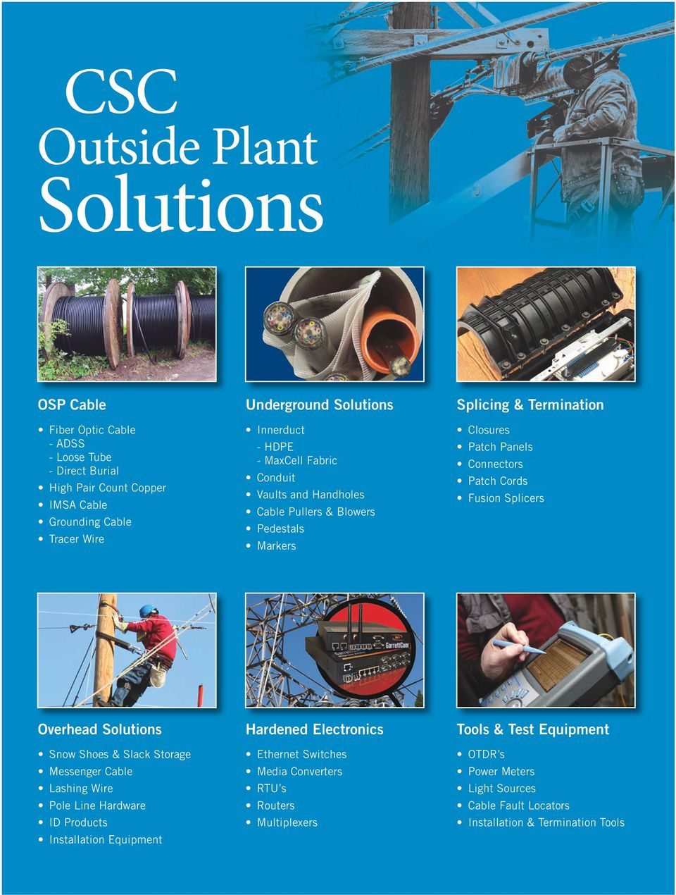 OUTSIDE PLANT SOLUTIONS - PDF