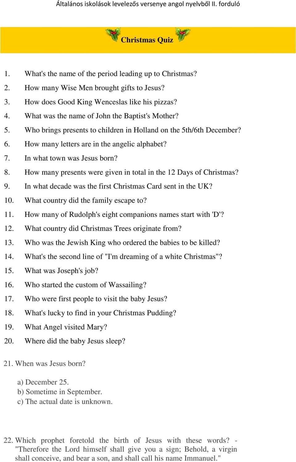 What Country Did Christmas Trees Originate From