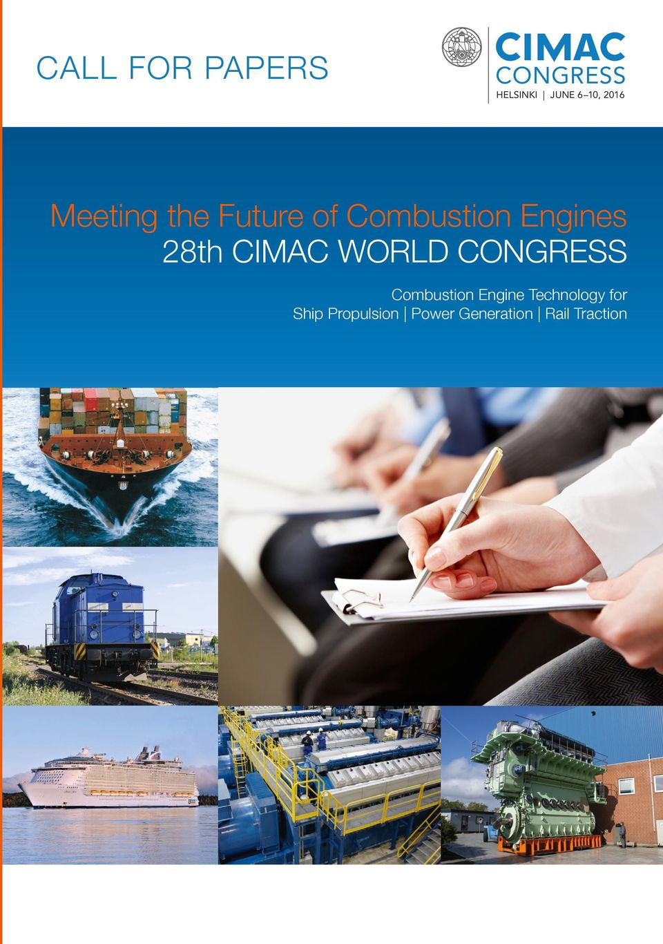 28th CIMAC WORLD CONGRESS Combustion Engine