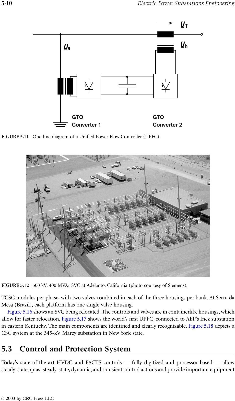 High voltage power electronic substations pdf for Electrical substation pdf